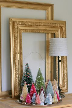 Love the bottle brush trees..(simple thoughts blog)