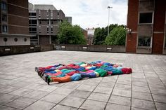 Projec Bodies in Urban Spaces, criado por Cie Willi Dorner.