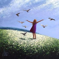 Dima Dmitriev painter born in Moscow Russia Impressionist painter Murals Street Art, Bonheur Simple, Image Nature, Painting People, Wow Art, Whimsical Art, Beautiful Paintings, Art Drawings, Images
