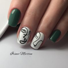 We put together some of the best nail art designs. You'll want to check them out… We put together some of the best nail art designs. Nail Gelish, Manicure And Pedicure, Hot Nails, Hair And Nails, Gorgeous Nails, Pretty Nails, Minimalist Nails, Nailart, Best Nail Art Designs