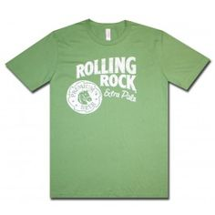 Rolling Rock Logo T Shirt.