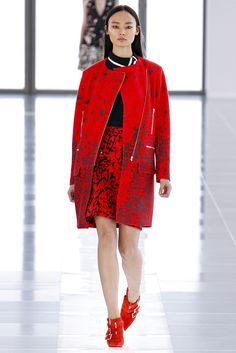 Preen by Thornton Bregazzi Fall 2013 Ready-to-Wear Fashion Show - Li Xiao Xing