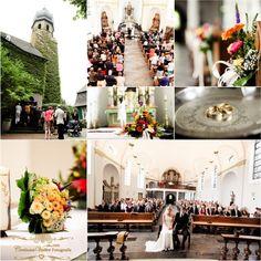 Schöne kleine Dorfkirche (katholisch) in Duisburg Rahm. Fotos von www.hochzeitsfotografie-duisburg.de