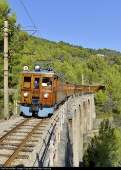 RailPictures.Net Photo: FS AABfhv 2 Ferrocarril de Soller AAB fhv at Sóller, Balearic Islands, Spain by Jean-Marc Frybourg