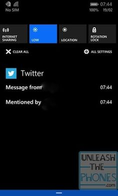Here's Windows Phone 8.1's notification center in action (video)
