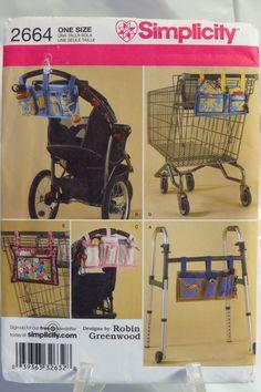 Wheelchair Pockets Pattern Walker Pockets Pattern