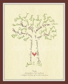 DIY & Crafts - I Should Make This! - The cutest family tree idea!!