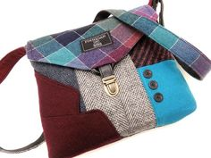 These fabulous, classic bags are made from stuffy old men's suits : TreeHugger