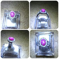 For Sale Ruby Silver Ring