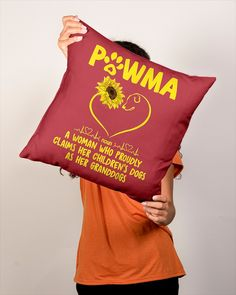 Sunflower Pawma A Woman Who Proudly Claims - True Red #firefighters #design #education mom son, mom life, soccer mom, dried orange slices, yule decorations, scandinavian christmas