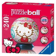 Hello Kitty: Peace and Love - 240 Piece puzzleball - canada fun Hello Kitty Games, Electronic Toys, Sanrio, Peace And Love, My Friend, Jigsaw Puzzles, My Favorite Things, Fun, Coupon