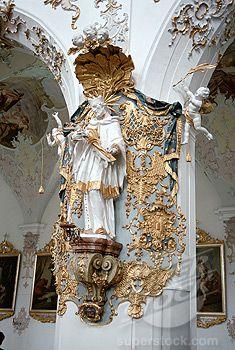 Neuschwanstein Castle Interior | Stock Photo - Interiors of Neuschwanstein Castle, Romantic Route Road ...