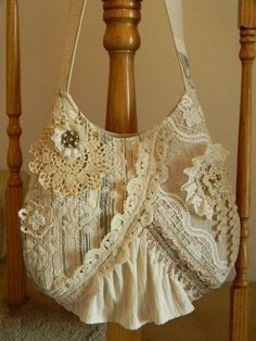 Bags boho style. Ideas for inspiration. Part 3: marshmallow-cream delicacy or richness of the women - Fair Masters - handmade, handmade