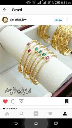 Gold Bangles, Jewelry Design, Bracelets, Fashion, Moda, Fashion Styles, Bracelet, Fashion Illustrations, Arm Bracelets