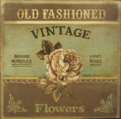 The beautiful washed out colors and lovely vintage font. I'm in love!