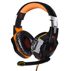 Cheap each Buy Quality each gaming headset directly from China gaming headset Suppliers: Kotion EACH Gaming Headset Over-ear Fone De Ouvido Deep Bass Earphone Stereo Headphones Microphone LED Light for PC Gamer Gaming Headphones, Headphones With Microphone, Headphone With Mic, Skullcandy Headphones, Beats Headphones, Gaming Microphone, Sports Headphones, Pc Gamer, Headpieces