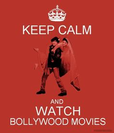 Keep calm and watch Bollywood Movies. :) I have become a big fan of Bollywood films! So much more substance than an Hollywood film. Bollywood Party, Bollywood Stars, Bollywood Fashion, Movies Bollywood, Desi Humor, Desi Memes, Shahrukh Khan, Ranveer Singh, Bollywood Quotes