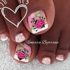 Toe Nails, Pedicure, Lily, Nail Art, Art Nails, Templates, Pretty Toe Nails, Simple Toe Nails, Lace Nails