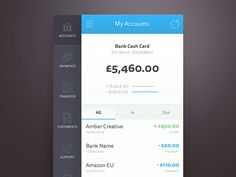 Bank App Concept by Sebastiano Guerriero
