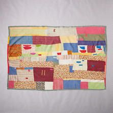 ONE-OF-A-KIND KURINJI QUILTED THROW