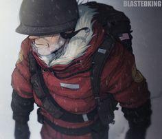 Dd638 Winter Soldier by BlastedKing.deviantart.com on @DeviantArt ( @GreyRose_ ) #TF2 #Soldier #TeamFortress
