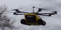 Marsh Drone Floats On Water To Search Murky Depths | Made by Search Systems, the Mariner 600 is designed with the careful amphibious ability of a swampland bird--able to fly in the sky and poke around under water.