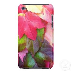 Autumn Leaves iPod Touch Case