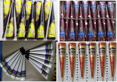 CHOOSE  & BUY  henna cones  temporary tattoo kit body tattoo Free Shipping #Heena