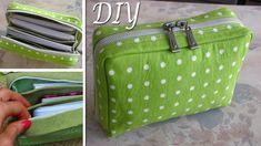 DIY Zipper Pouch Bag Tutorial • DIY BAG VIDEO TUTORIAL - YouTube