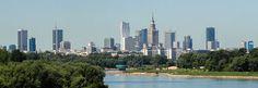 Skyscrapers in Warsaw's Śródmieście district.