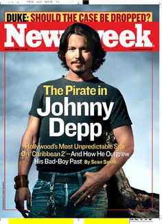 JD on the cover of Newsweek...
