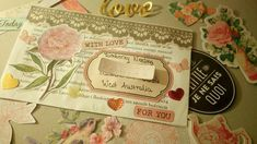 Snail mail inspiration ♥ Pen pals :3 DIY! Made with love