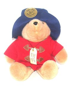 "14"" Paddington Bear, Collectible Bear, 31st Anniversary Collectible Doll, Antique Alchemy"