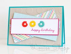 Stampin' Up! | INKspired Blog Hop - Sprinkles on Top | By Louise Sharp