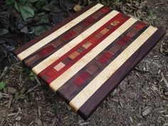 Handmade Exotic Wood Cutting Board FREE by TheGrainExpression