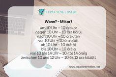 Szókincs :: Lupán Német Online German Language Learning, Cards Against Humanity, Deutsch, Learn German