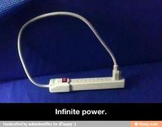 Infinite power :)