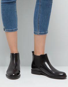 Pull&Bear - sapatos - botas e botins - botins elásticos - preto - 15130011-I2015
