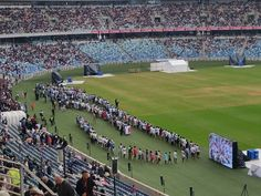 425 baptised @ Moses mabhida stadium Durban. Over 33k in attendance. Awesome!