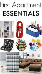 First Apartment Essentials | eBay