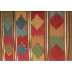 Meva Rugs Kilim Multi-colored Rug Rug Size: