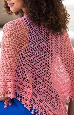 Fleur de Lis Shawl Free Pattern from Aunt Lydia's Crochet Thread