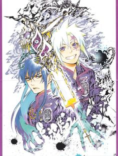D. Gray Man is my all time favorite manga art! It's beautiful!
