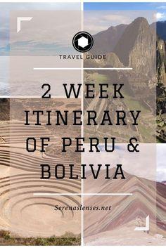 2 Week Peru and Bolivia Itinerady