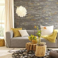 Love stone wall.