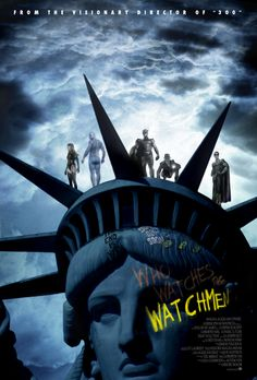 Watchmen is the longest movie ever! Dc Comics, Comic Books Art, Comic Art, Dr Manhattan, Alternative Movie Posters, Cinema Posters, Superhero Movies, Shows, Classic Movies