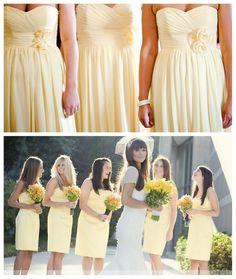 You Can Wear It Again, I Swear {Bridesmaids Dresses} | Engaged & Inspired