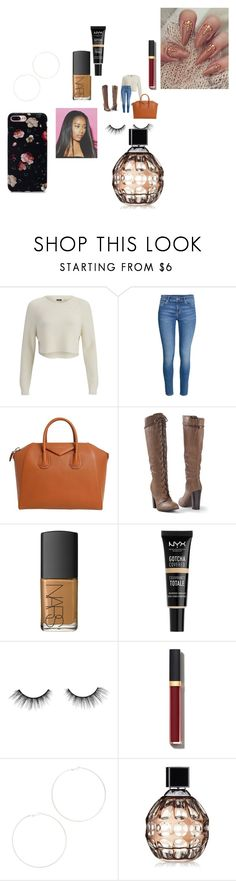 """""""Thanksgiving break"""" by fashionicon67 ❤ liked on Polyvore featuring 2NDDAY, Givenchy, Venus, NARS Cosmetics, NYX, tarte, Chanel, Kenneth Jay Lane and Jimmy Choo"""