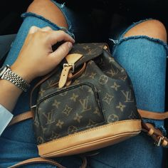 Louis Vuitton Mini Montsouris Backpack