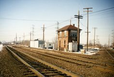 train switch track tower historic - Google Search